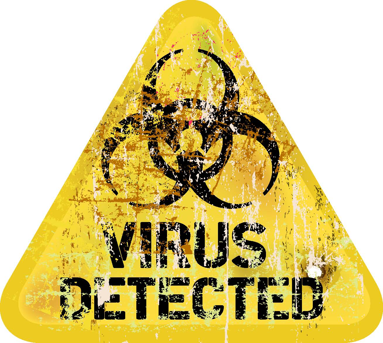 example image of computer virus