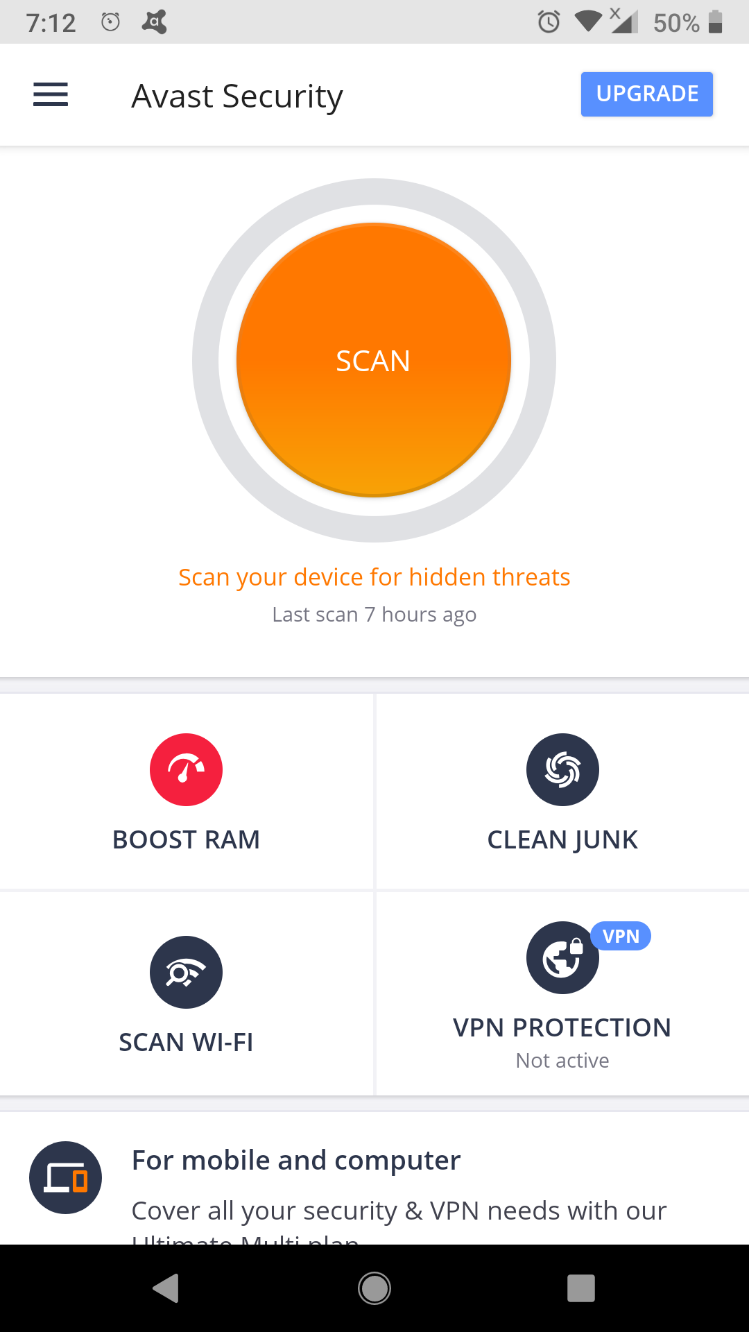 7 Best Antivirus for Android of 2019 (Updated) - Mirage Portal