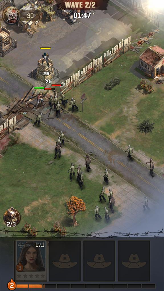 best mobile games strategy, walking dead