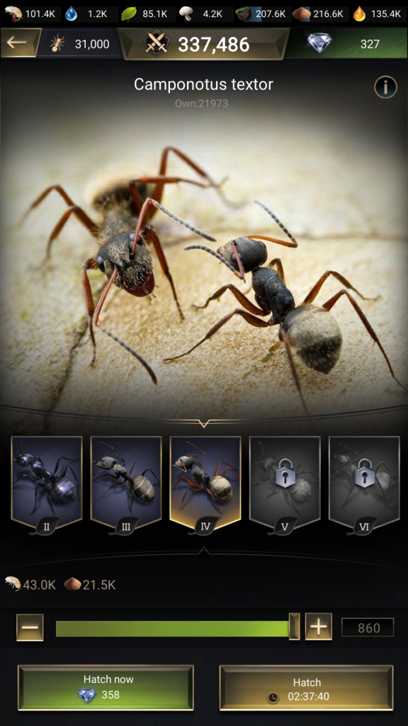newest mobile games, the ants