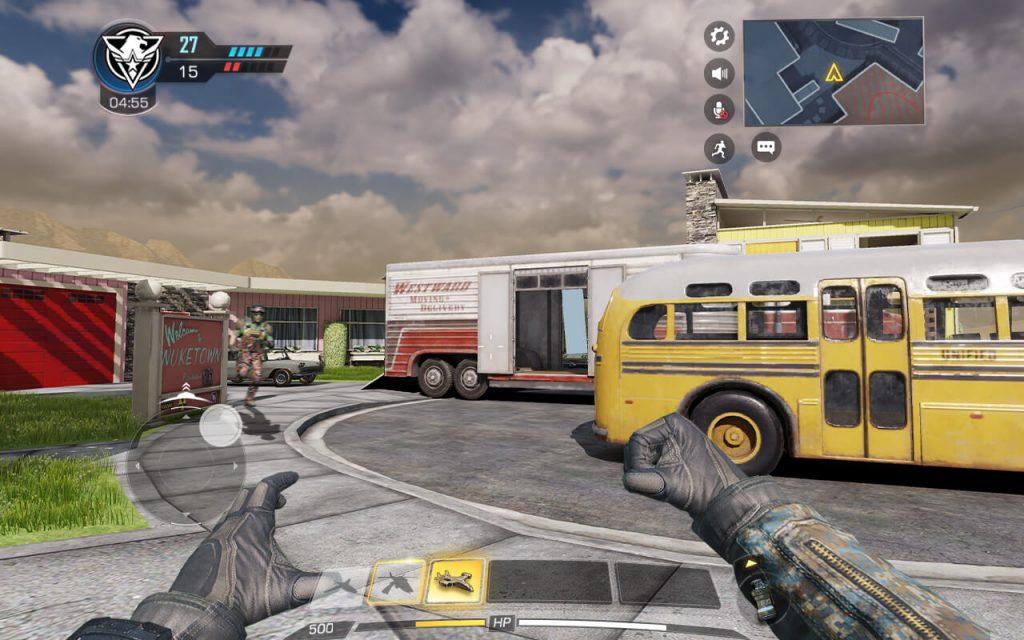 เกมส์มือถือสุดฮิต Call of Duty