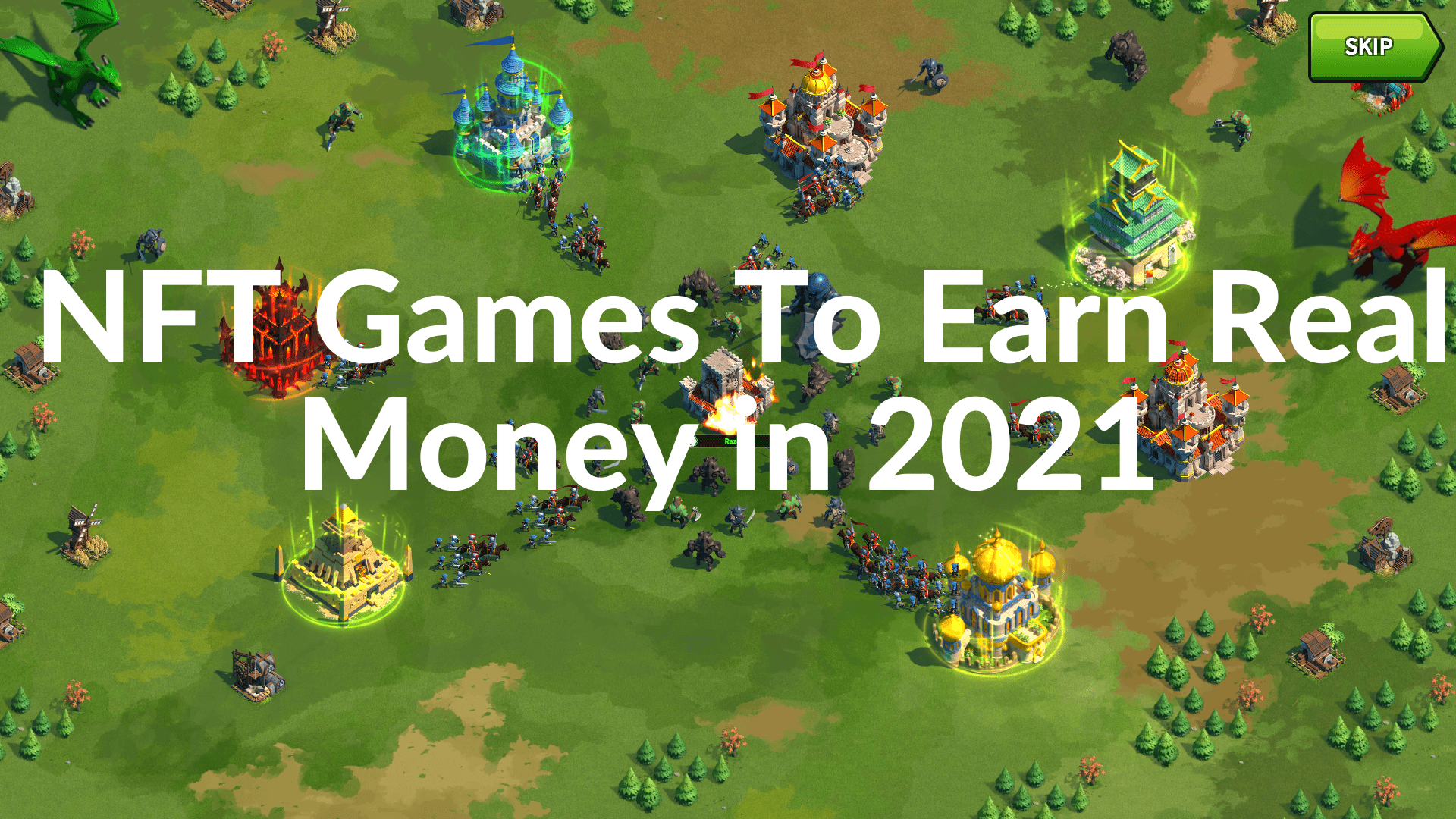 You are currently viewing Top 7 Best and Upcoming NFT games To Earn Money in 2021