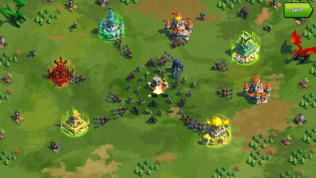 league of kingdoms game-play